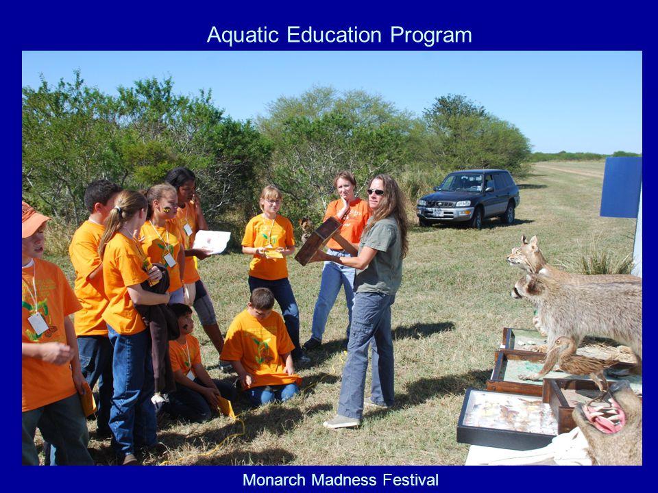 Monarch Madness Festival Aquatic Education Program