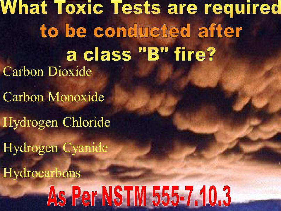 Toxic Gas Common Shipboard Hazards Carbon Monoxide Hydrogen Sulfide Halon & Freon Carbon Dioxide Nitrogen Dioxide Methane Hydrogen Ammonia