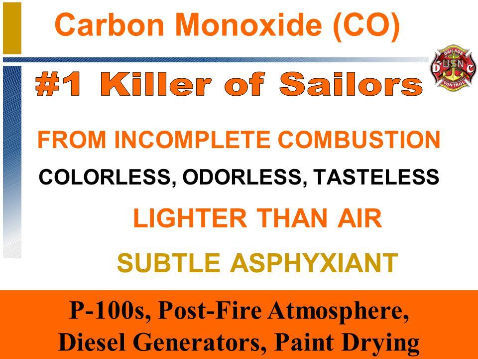 Carbon Dioxide Carbon Monoxide Hydrogen Chloride Hydrogen Cyanide Hydrocarbons