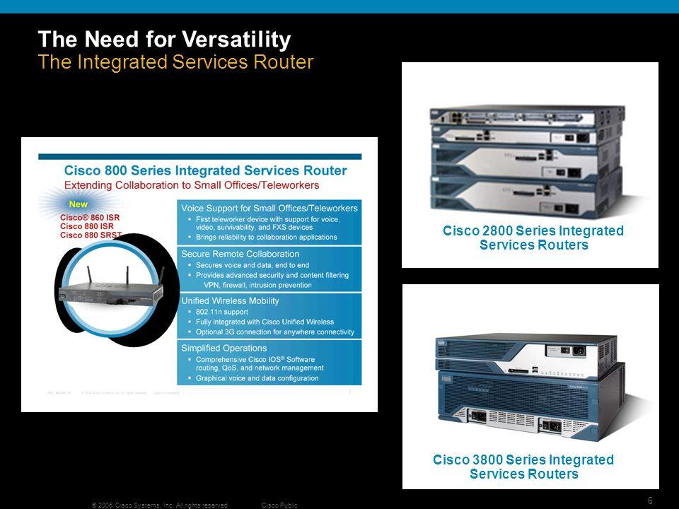 7 © 2006 Cisco Systems, Inc.