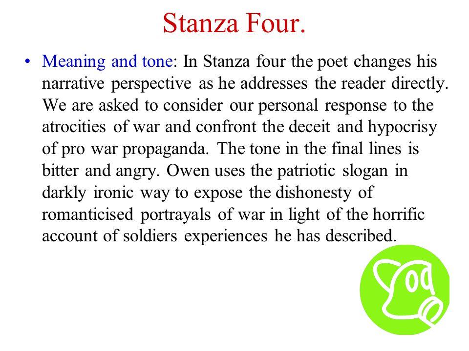 Stanza Four.