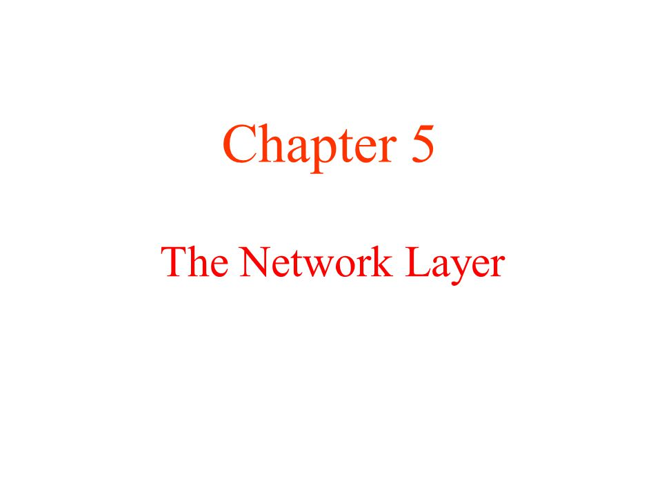 How Networks Differ Some of the many ways networks can differ. 5-43