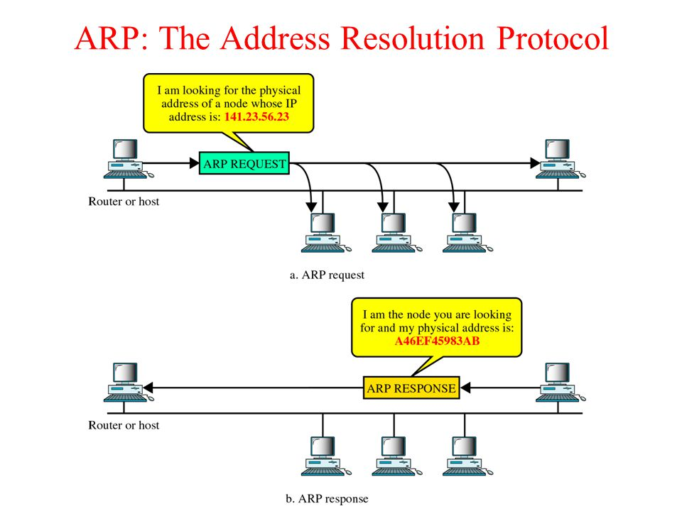 ARP: The Address Resolution Protocol