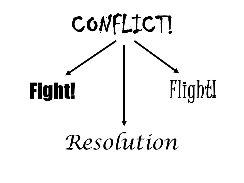 CONFLICT! Fight! Resolution Flight!