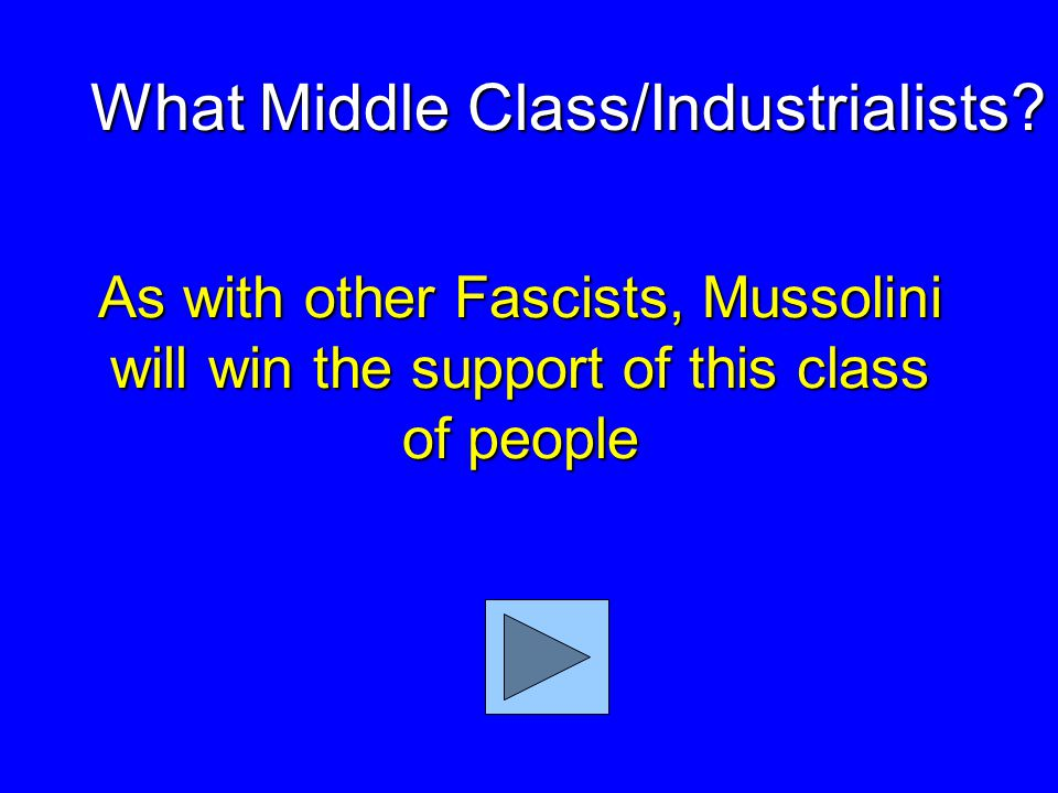 Mussolini's party in Italy What is Fascist Party