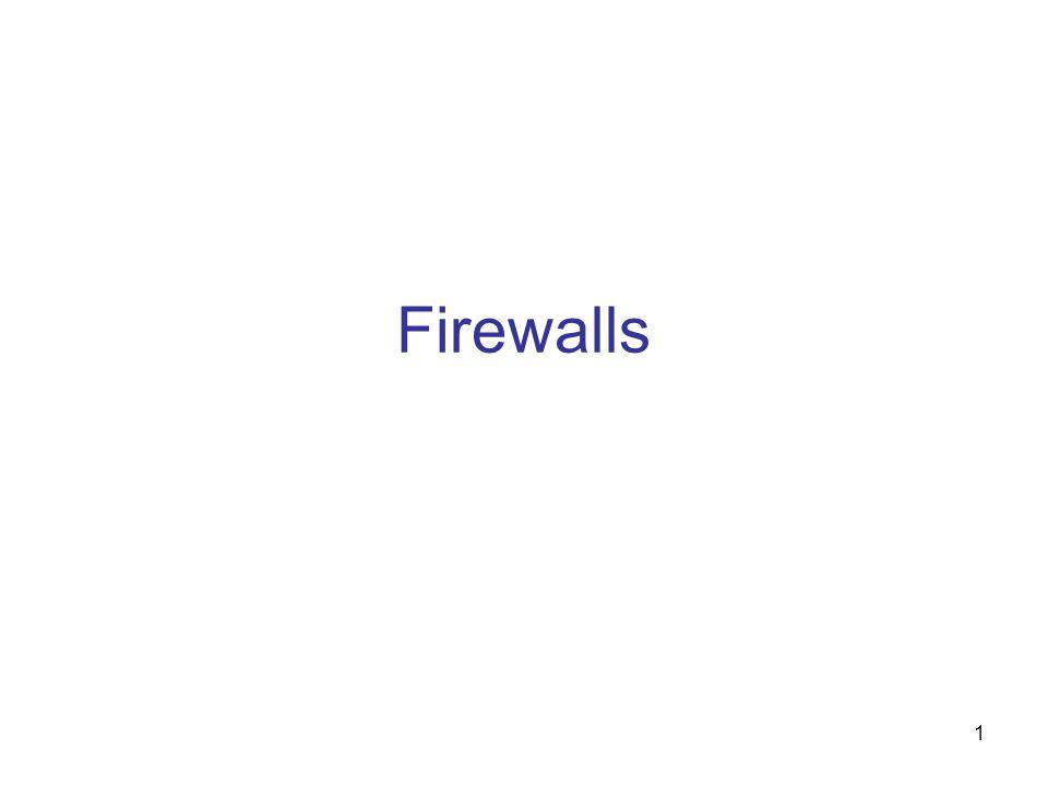 1 Firewalls