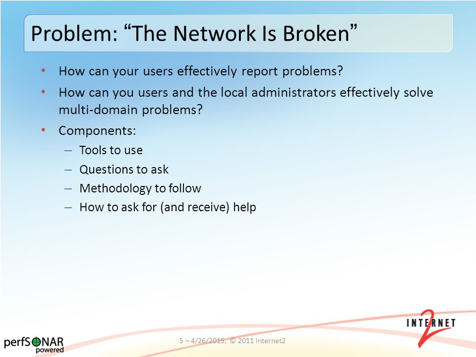 How can your users effectively report problems.