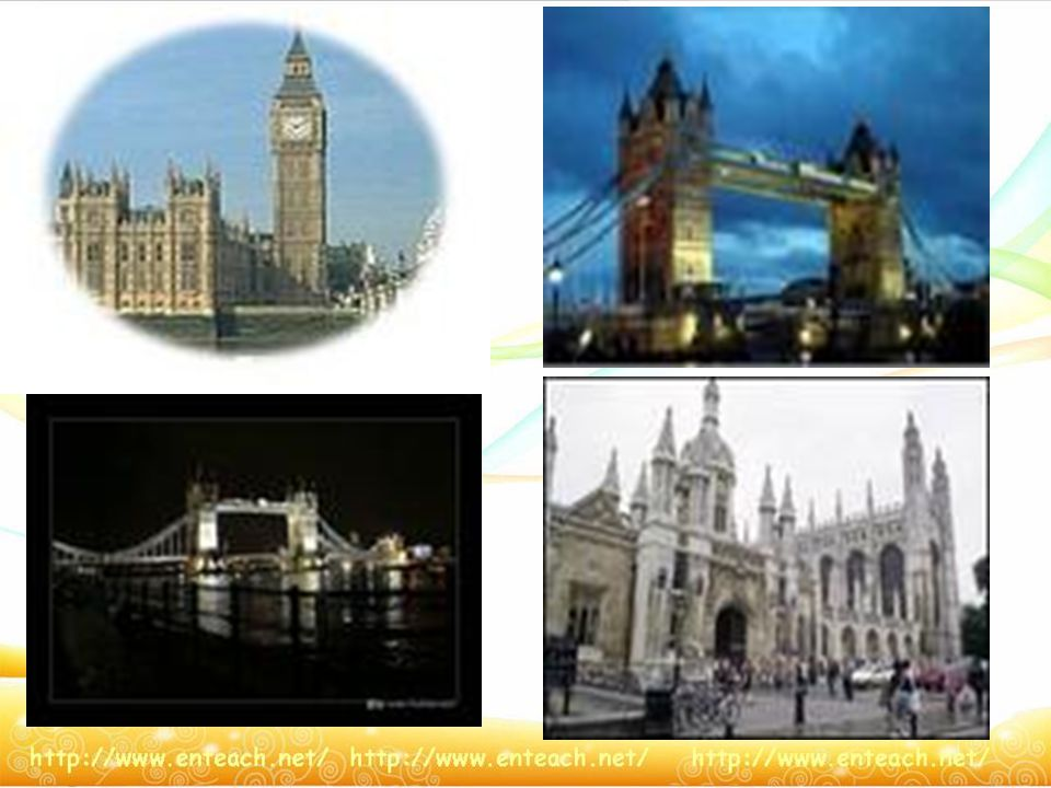 Some Scenery Spots in Britain Big Ben London Tower Buckingham Palace