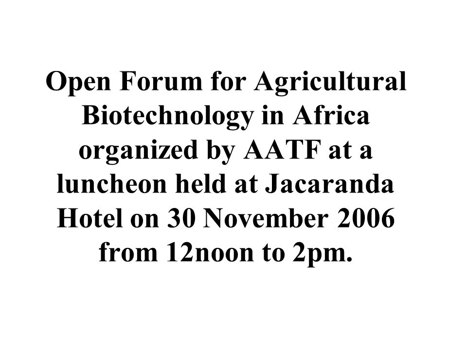 The Role of Intellectual Property in Biotechnology Research, Development and Innovation Lucas Sese, HSC.