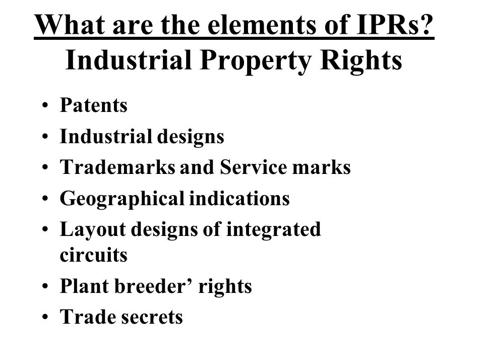 Draft IP legislation Draft Geographical Indications Bill, 2001 Draft Undisclosed Information Bill, 2001 Draft Layout designs for integrated circuits 2002 Draft Counterfeit Goods Bill,2005