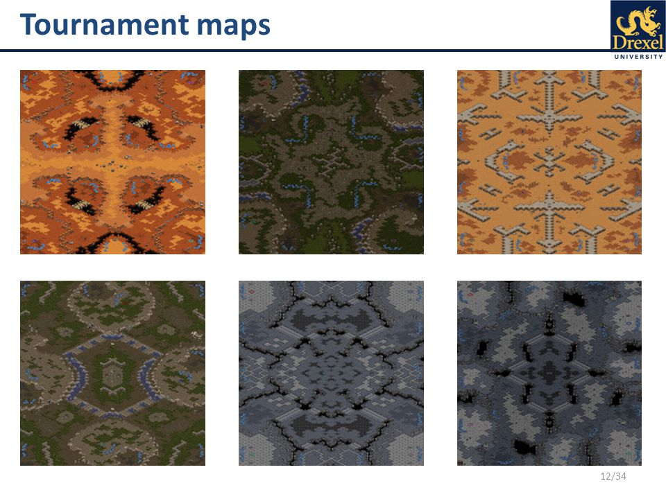 12/34 Tournament maps