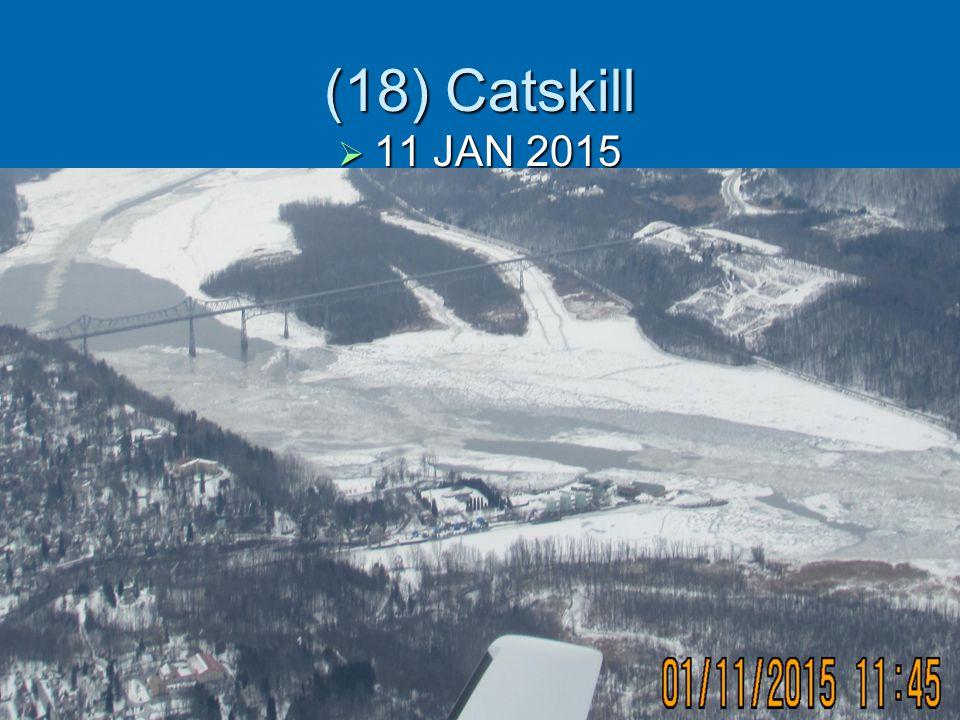 (18) Catskill  11 JAN 2015