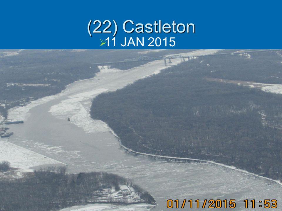 (22) Castleton  11 JAN 2015