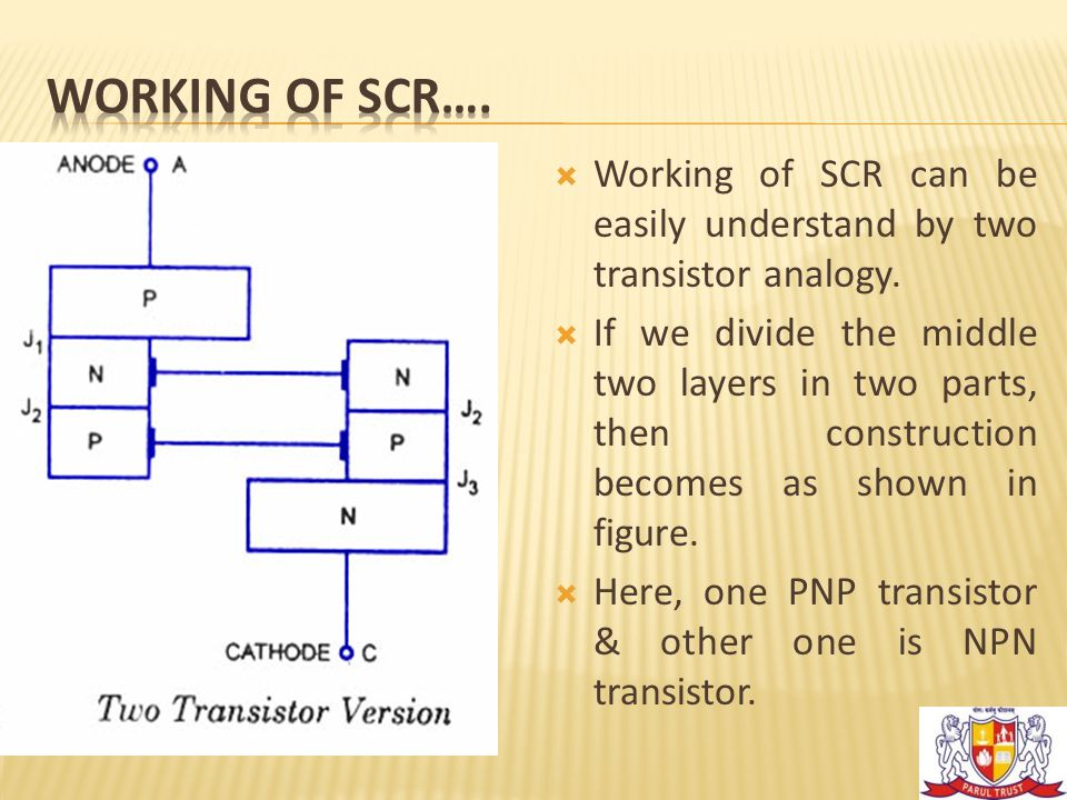  As shown in figure, collector of first transistor is connected to base of second transistor and the collector of second transistor is connected to the base of first transistor.