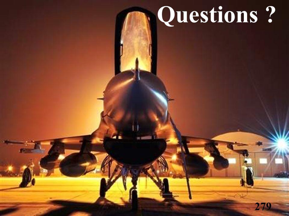 Questions ? 279