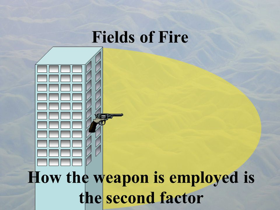 Sectors of Fire A sector of fire is an assignment.