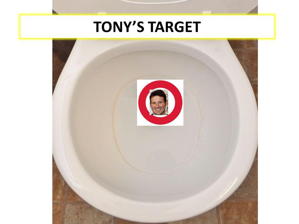 TONY'S TARGET