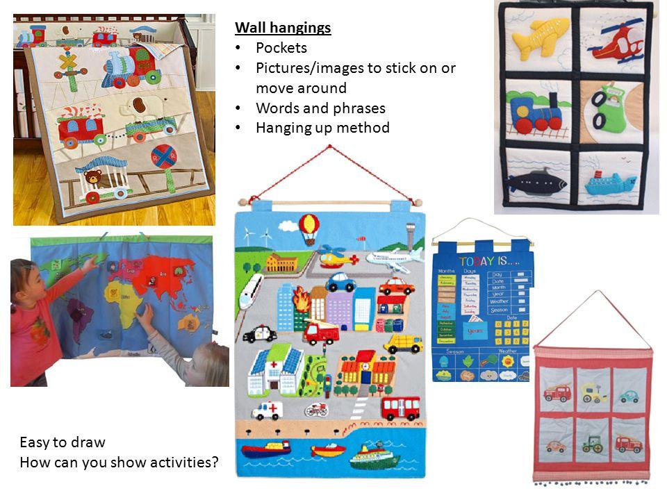Soft sculptures/toys Educational features.