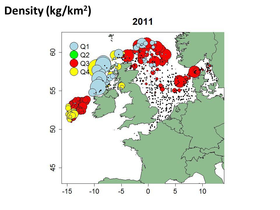Density (kg/km 2 )