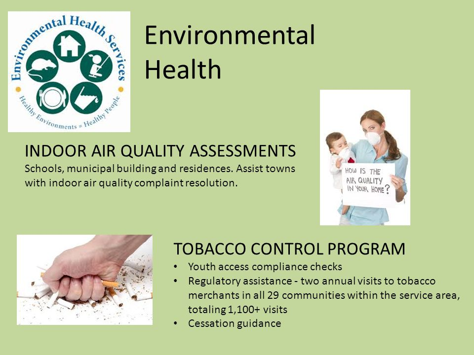 Environmental Health HOARDING TASK FORCE Staff support and participation to assist municipalities with this multifaceted problem.