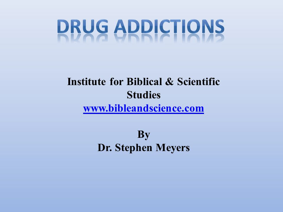 Introduction Causes of addiction Information on drugs Treatment for addiction Quiz Resources