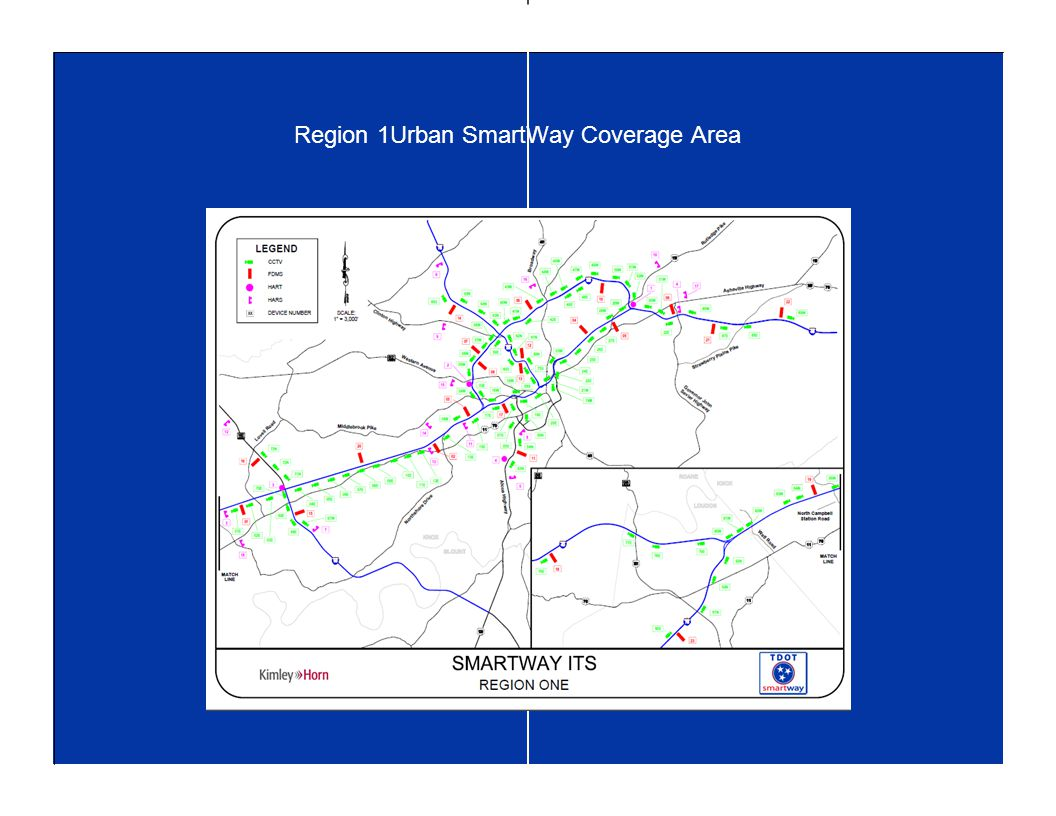 Region 1Urban SmartWay Coverage Area
