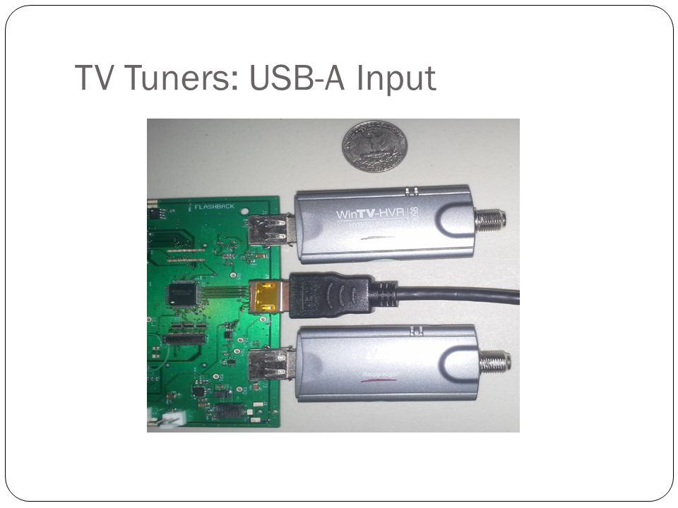 TV Tuners: USB-A Input