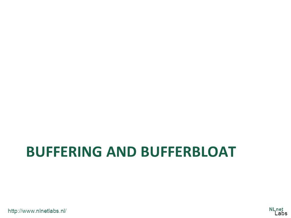 http://www.nlnetlabs.nl/ NLnet Labs BUFFERING AND BUFFERBLOAT