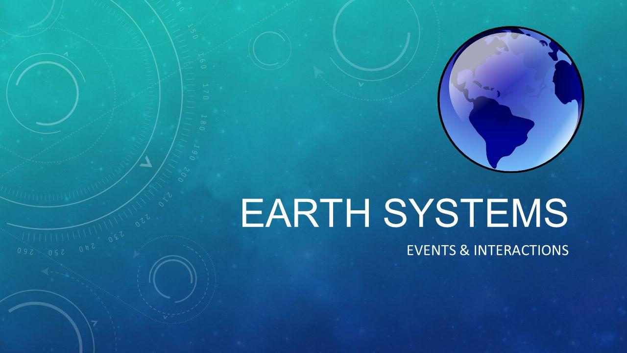 Event Hydrosphere Biosphere Atmosphere Geosphere