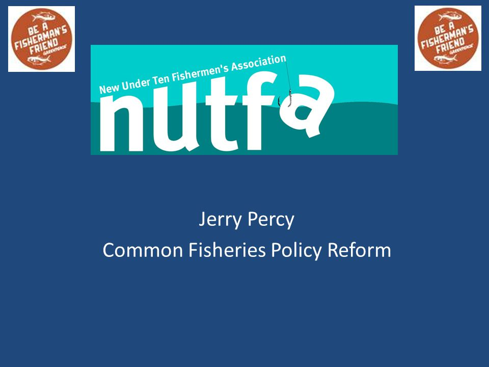 Jerry Percy Common Fisheries Policy Reform