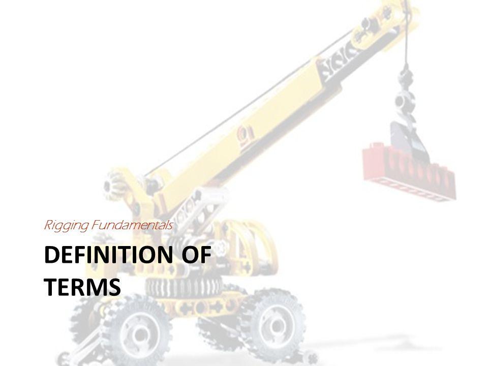 American Society of Mechanical Engineers (ASME) Standards – B30.9: Slings – B30.10: Hooks – B30.16:Overhead Hoist Underhung – B30.20:Below the Hook Lifters – B30.21:Lever Hoist – B30.26:Rigging Hardware
