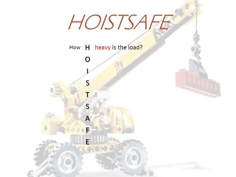 HOISTSAFE H O I S T S A F E