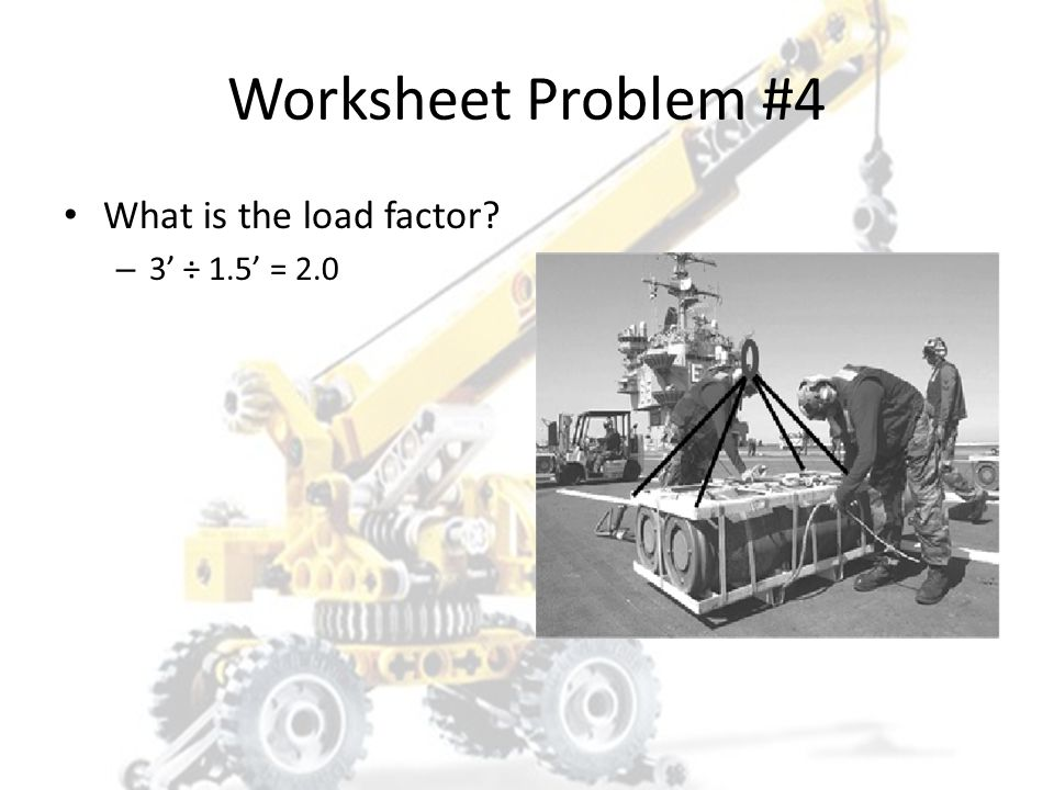 Worksheet Problem #4 What is the share of the load? – 1,133.3333333333#