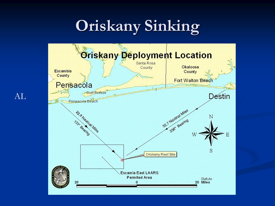 Oriskany Sinking AL
