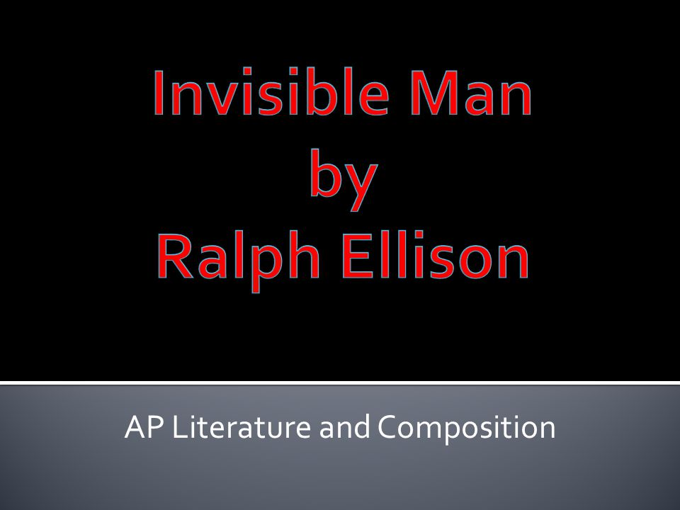 AP Literature and Composition