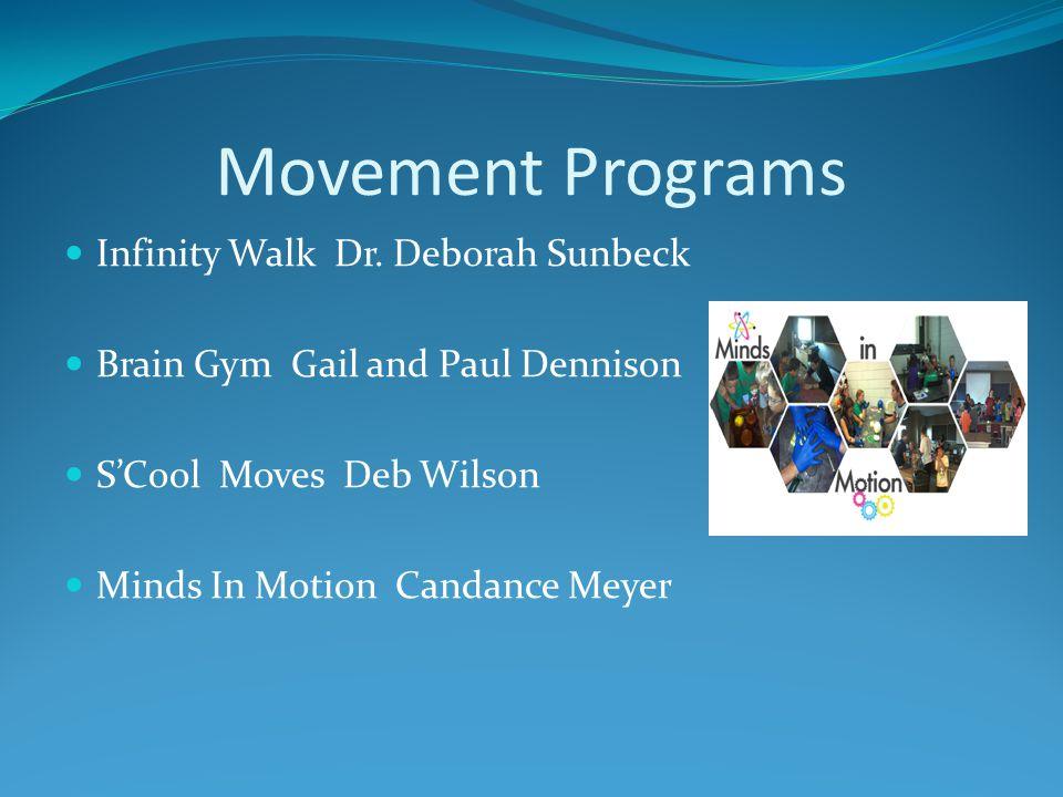Movement Programs Infinity Walk Dr.