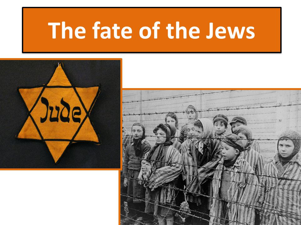 The fate of the Jews