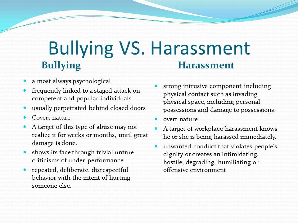 Bullying VS.