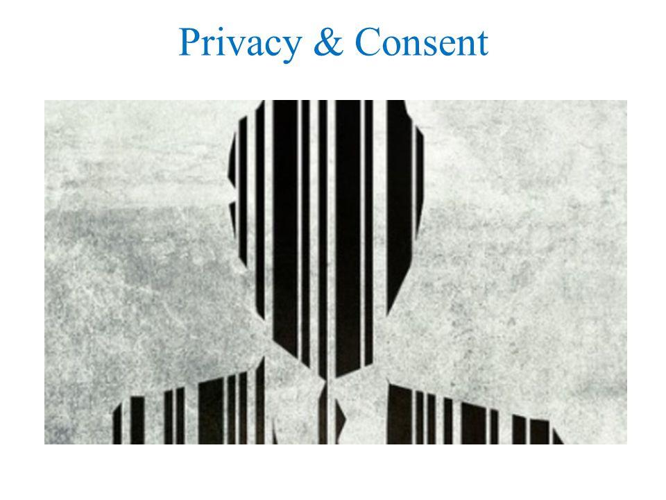 Privacy & Consent