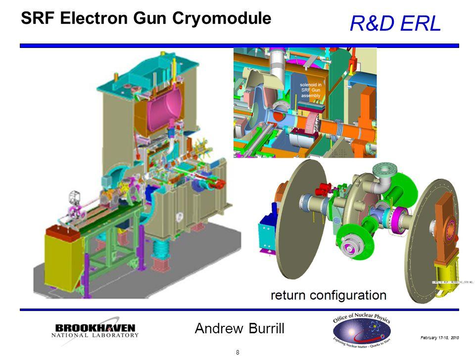 February 17-18, 2010 R&D ERL Andrew Burrill SRF Electron Gun Cryomodule 8