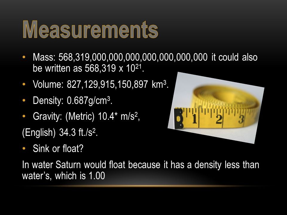 Saturn is the 6 th planet from the Sun.