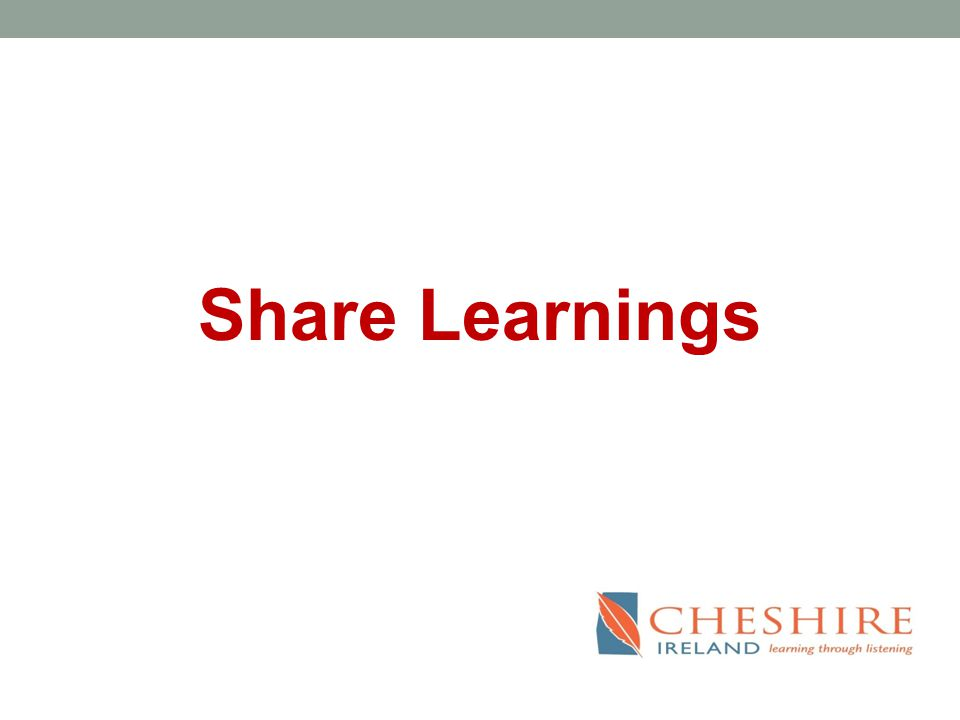 Share Learnings