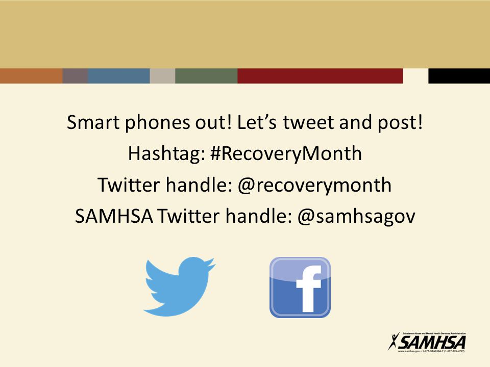 Smart phones out.Let's tweet and post.