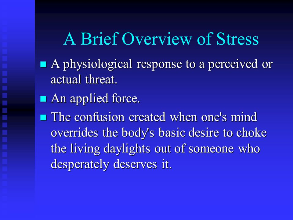 Behaviors n Action or Non-Action n Internal Physiological Responses n External Observable Responses u Aggressive, Passive, Passive Aggressive