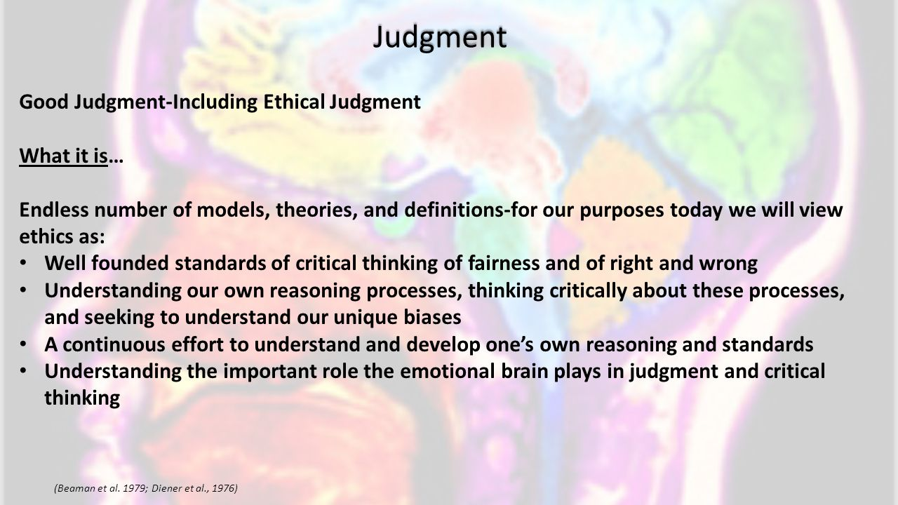 Judgment (Beaman et al.