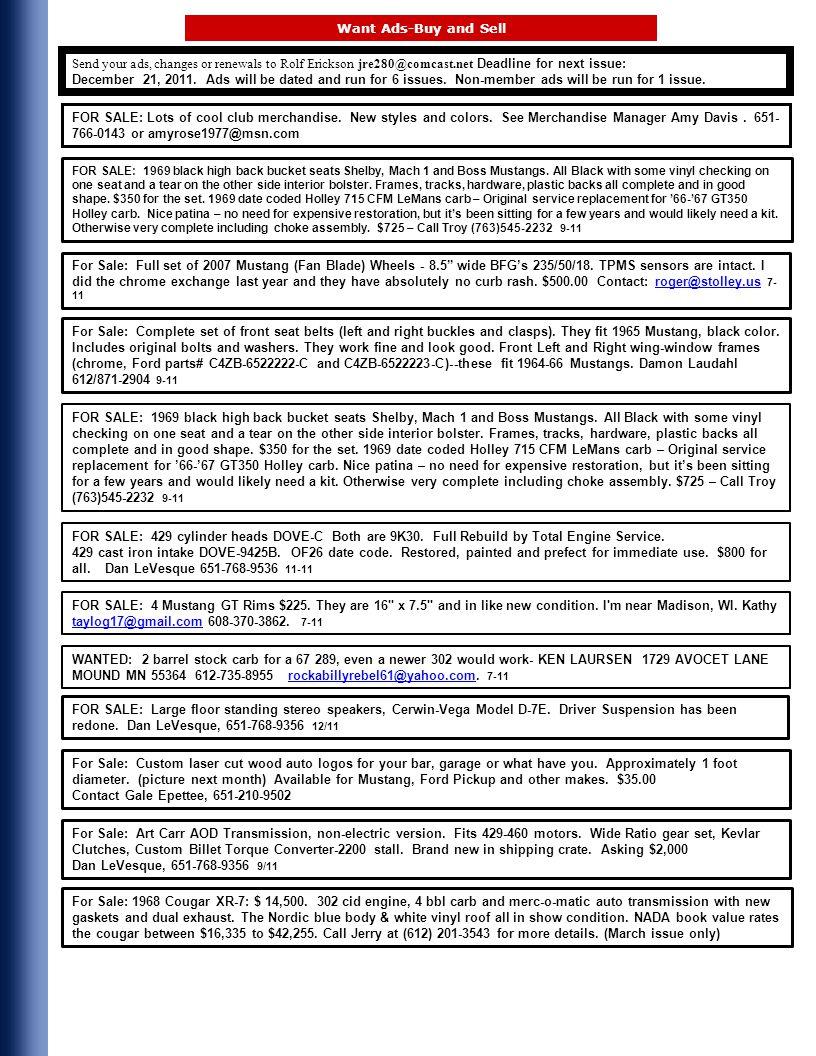 Upper Midwest Region SAAC P.O.Box 390453 Edina, Minnesota 55439
