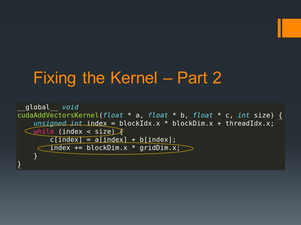 Fixing the Kernel – Part 2
