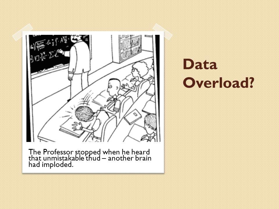 Data Overload.