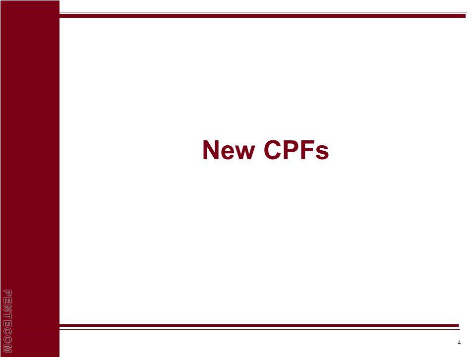 4 New CPFs