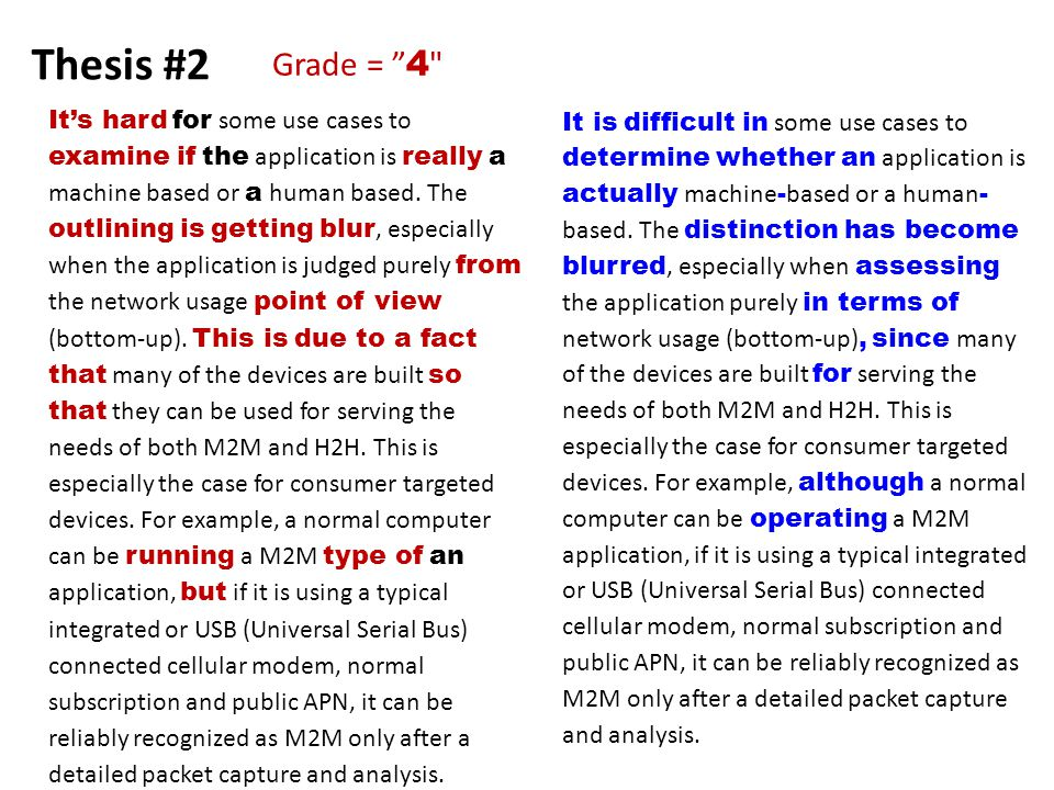 Thesis #2 It's hard for some use cases to examine if the application is really a machine based or a human based.